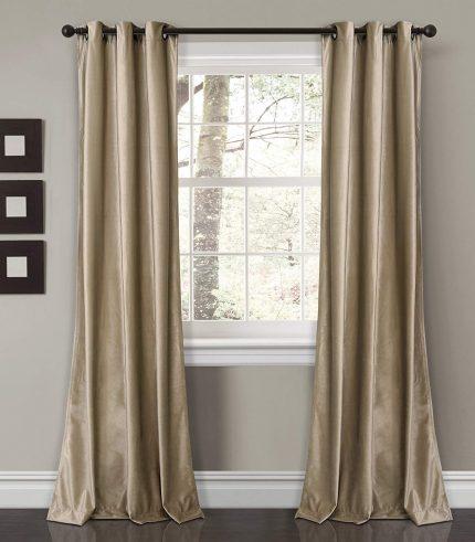 Velvet Curtain baige-min