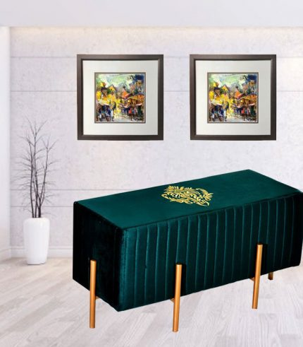 green-stool